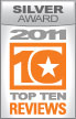 Top Ten Reviews Silver Award