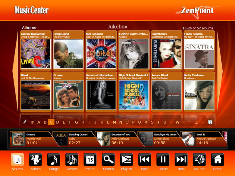 ZenPoint DigitalCenter Screen shot